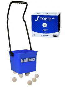 BALLBOX +120 BALLES J TOP TRAINING
